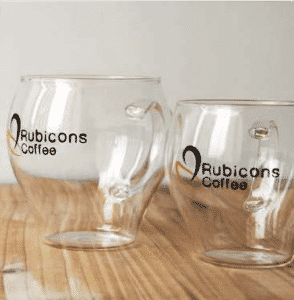 Branded Cafe Glassware