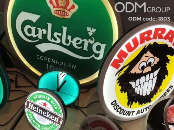 Bar Promotional Ideas - LED Clocks and Signs