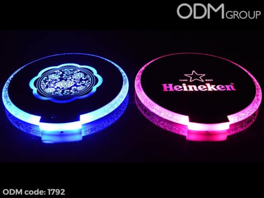 Bar Promotional Ideas- LED Coasters