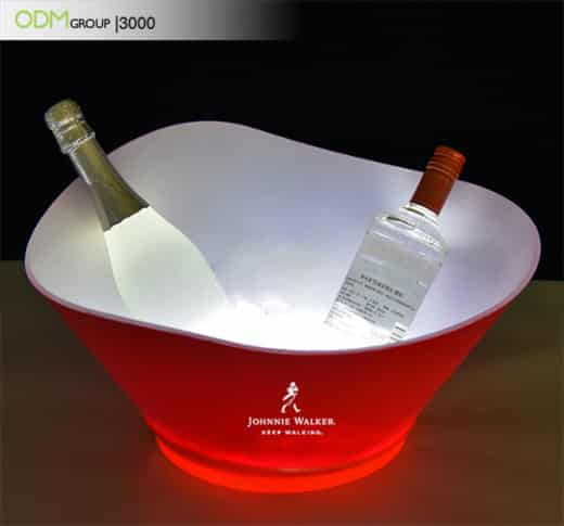 Bar Promotional Ideas-LED Ice Bucket