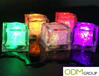 Bar Promotional Ideas- LED Ice Cubes