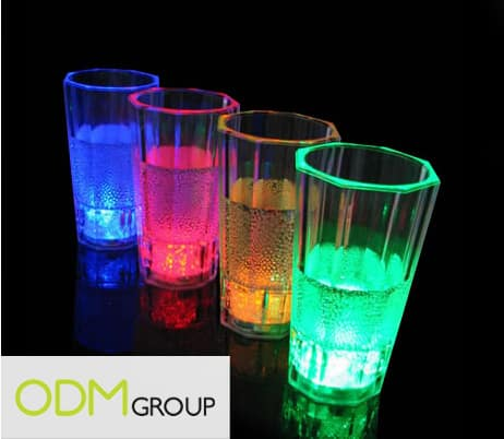 Bar Promotional Ideas- LED Projecting Cups