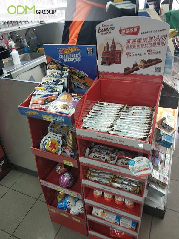 Cardboard Point of Sale Display- Contest Marketing