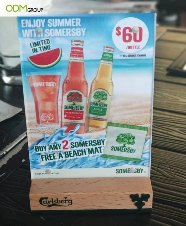 Summer Drinks Promotion