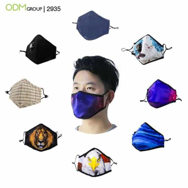 Trade Show Promotional Gifts- Custom Face Masks