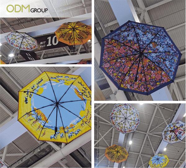 Unique Custom Promotional Gifts - Custom Umbrella