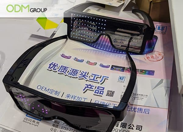 Unique Custom Promotional Gifts - LED Sunglasses