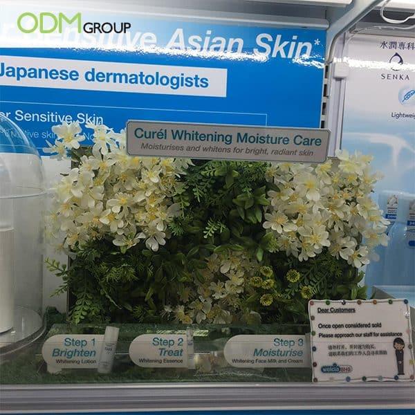Cosmetic Shelf Display