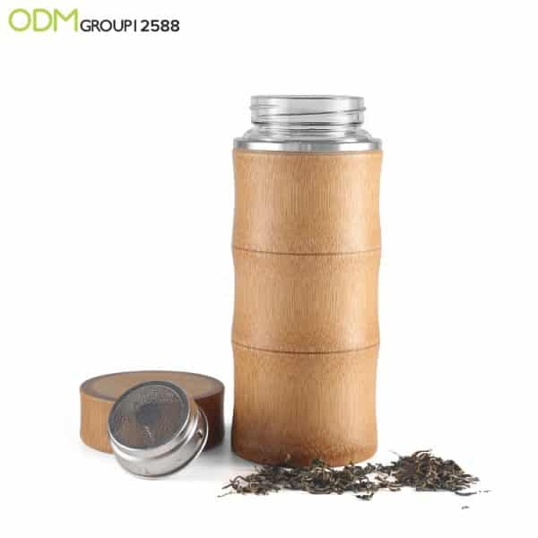 Branded Eco Friendly Bamboo Tumbler