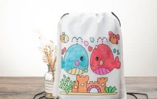 Drawstring Bag with Logo