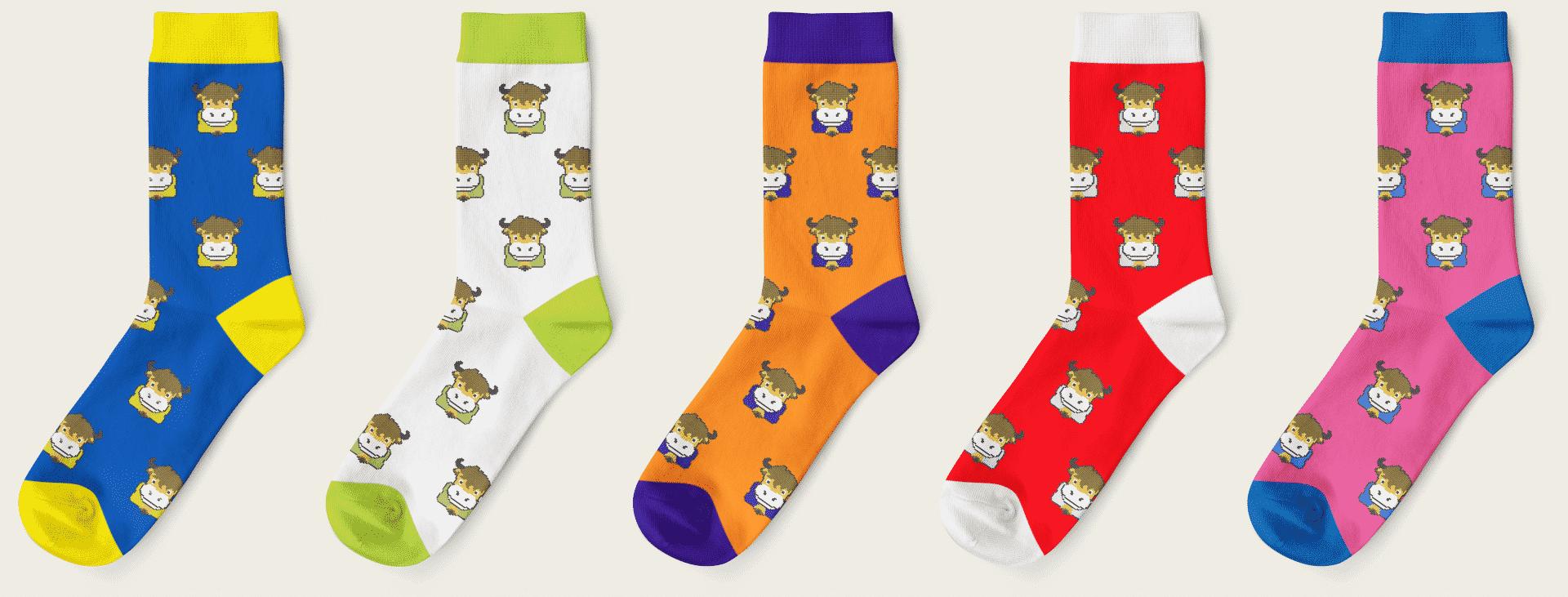 Lunar Lucky Socks