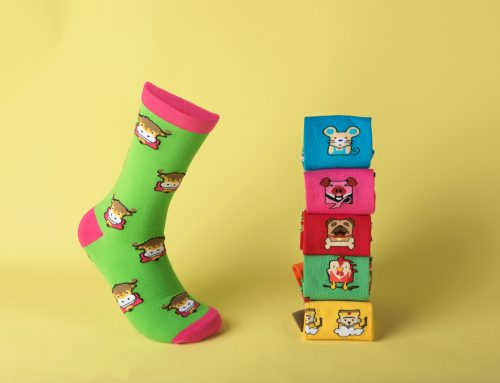 Moo-ve Aside Rat, ODM's Year of the Ox Socks are Here!