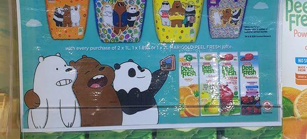 Cooler bag with logo
