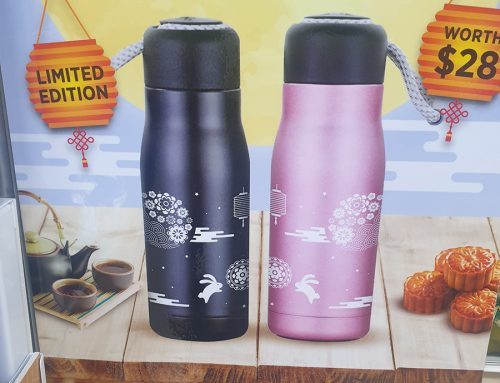 Lipton's Mid-Autumn Promotional Thermos Keep Tea Sales Piping Hot