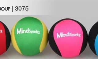 Stress balls with logos