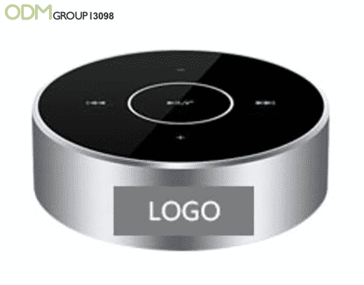 Branded Bluetooth Speaker Logo