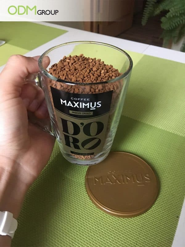 Custom Coffee Cup with Lid