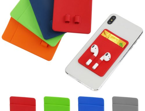 Custom Silicone Phone Wallet- Brilliant Promo Gift for Product Launch
