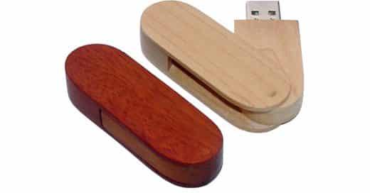 Custom Wooden USB Drives