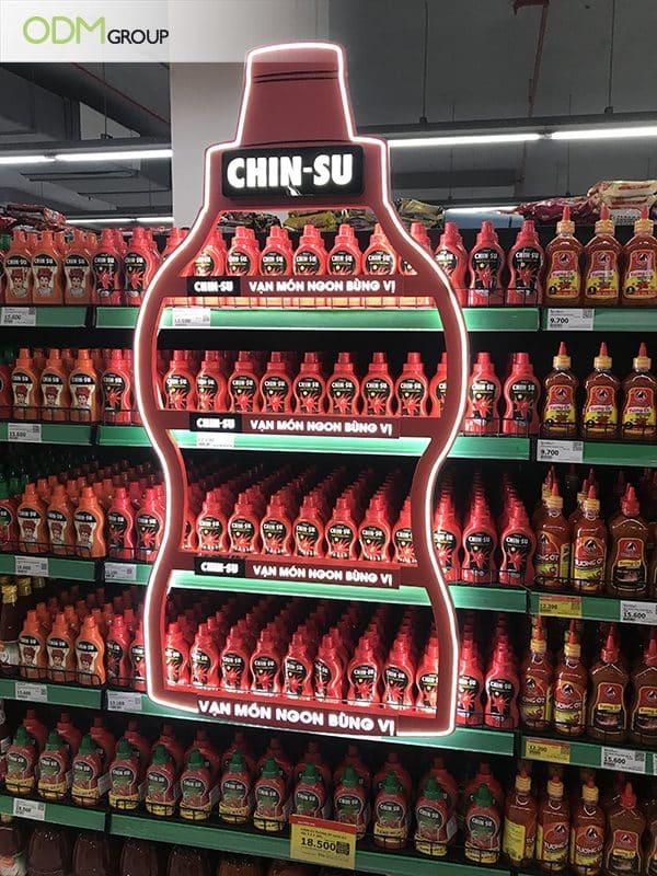 On-Shelf Displays