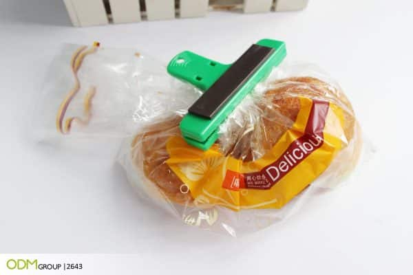 Real Estate Promotional Items - Branded Food Bag Clip