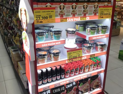 Store End Cap Displays: Awesome In-Store Marketing in Vietnam