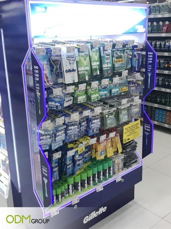 Store End Cap Displays