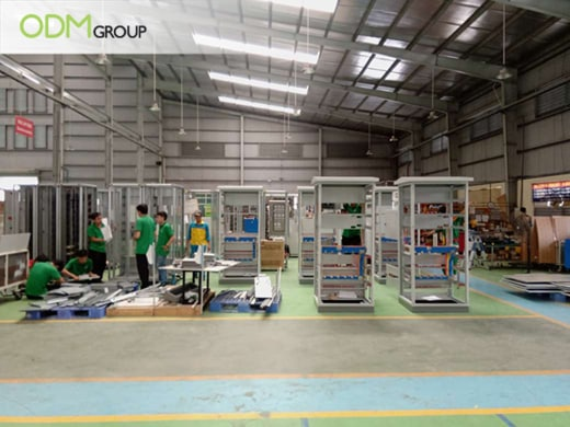 Electronic Components Manufacturing Factory