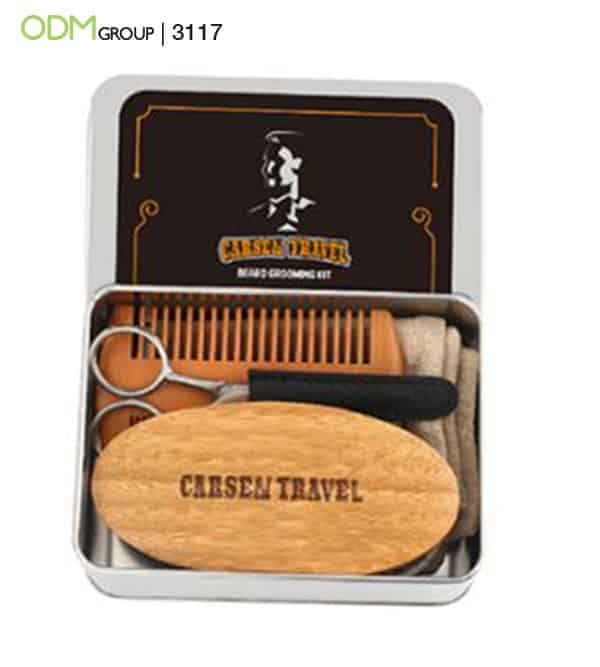 Creative Merchandise Ideas Beard Grooming Kits