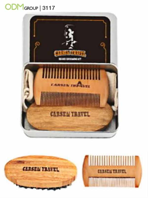 Creative Merchandise Ideas - Beard Grooming Kits