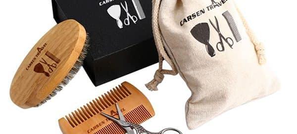 Creative Merchandise Ideas - Beard Grooming Kits