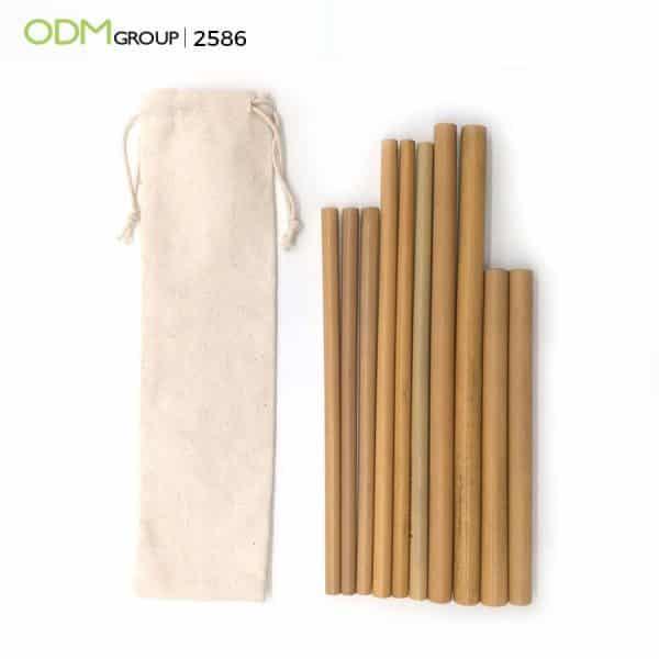 Custom Drinking Straws - Bamboo Straws