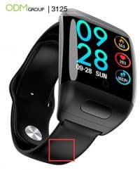 2 in 1 Smart Watch with TWS Wireless Earbuds