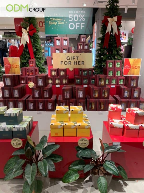 Christmas Retail Display