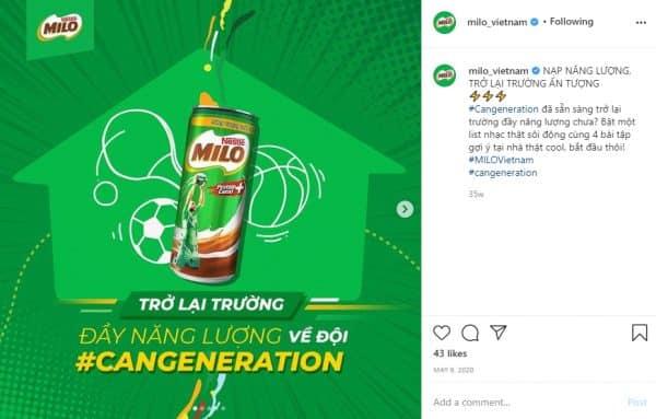 Milo #CANGeneration