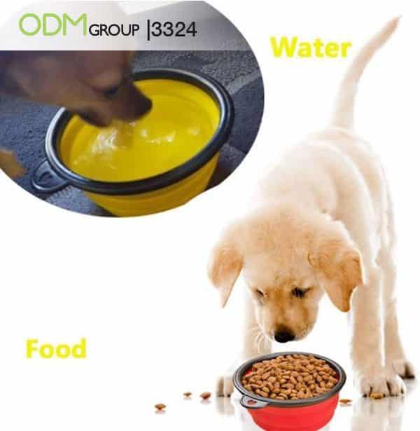 Promotional Dog Bowl