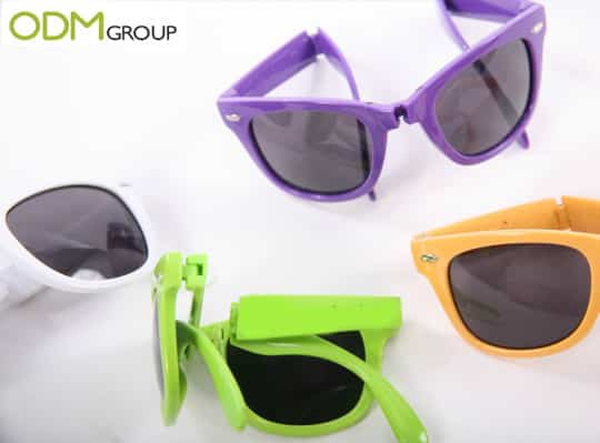Promotional Items for Summer - Foldable Shades