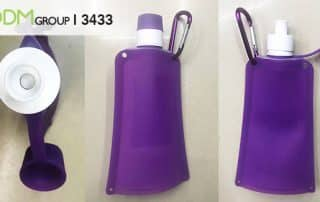 Branded Collapsible Water Bottle