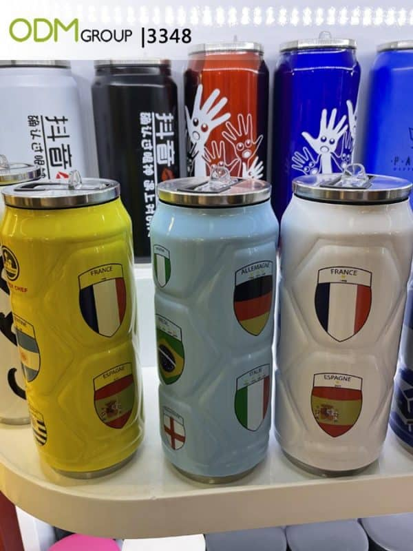 Custom Drink Bottles - Can-Shaped Stainless Steel Bottles