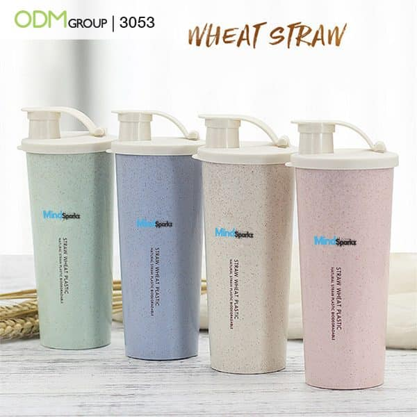 Custom Drink Bottles - Wheat Tumblers