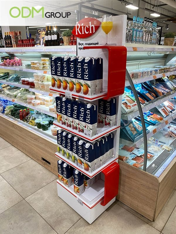 Freestanding Display Stand