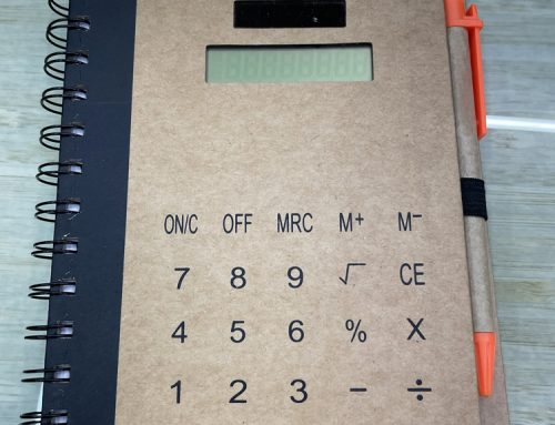 Calculator Notebooks: The Perfect Banking Promotional Items