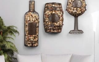 Custom wine cork holder