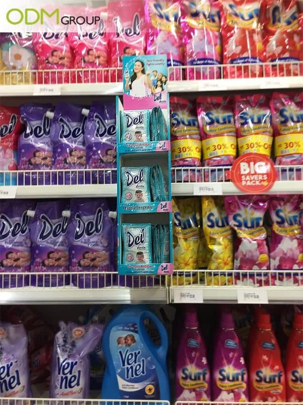 retail shelf displays
