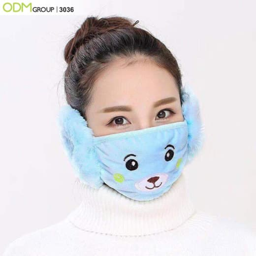 wearable merchandise earmuffs