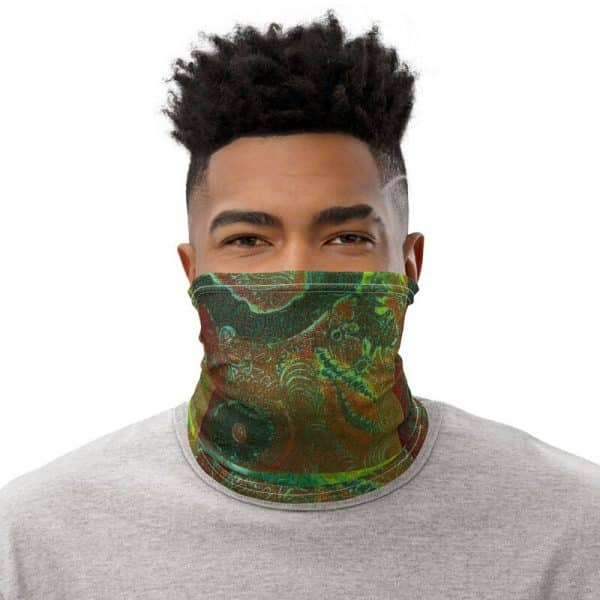 wearable merchandise neck gaiter