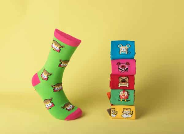 wearable merchandise socks