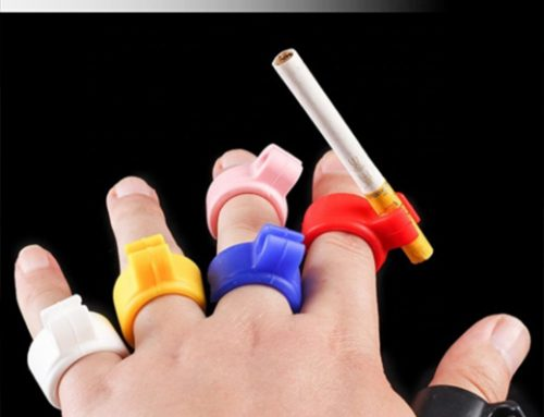 Business Giveaway Idea: Fire Up Sales with this Cigarette Holder Ring