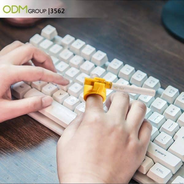 Business Giveaway Idea: Cigarette Holder Ring