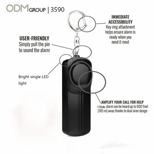 branded keychain